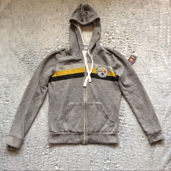 on sale c32a4 11cd4 Touch by Alyssa Milano Pittsburgh Steelers Hoodie NWT